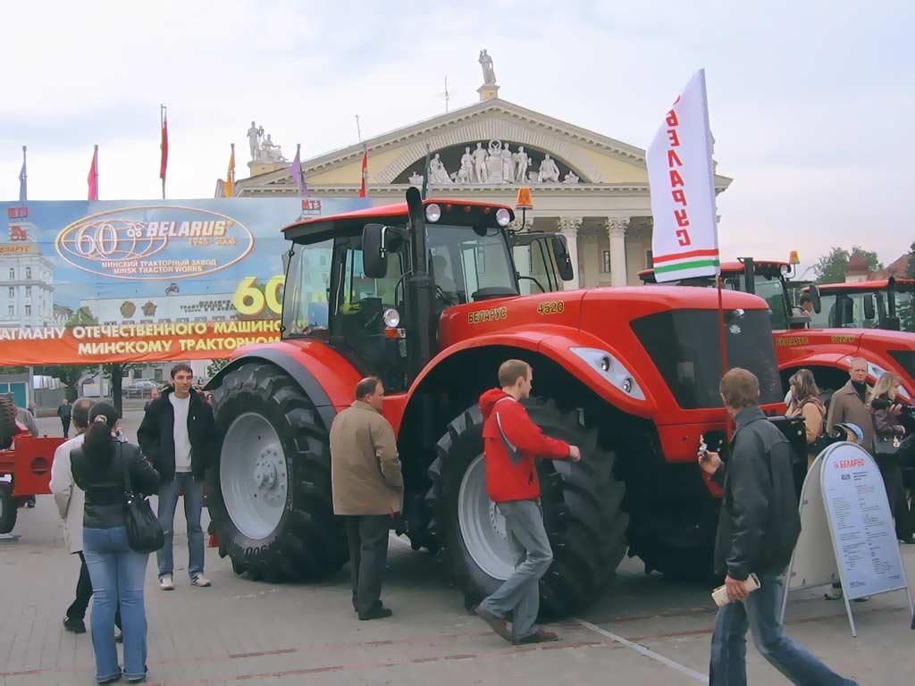 ухаживать последние новинки белорусского тракторного завода достигается